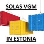 SOLAS VGM in ESTONIA